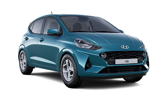 Image of All New i10 SE Connect in Aqua Turquoise