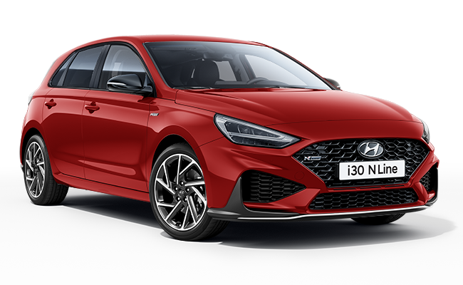 Image of New i30 N Line in Engine Red