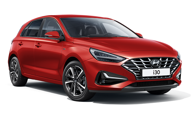 Image of New i30 Premium in Engine Red