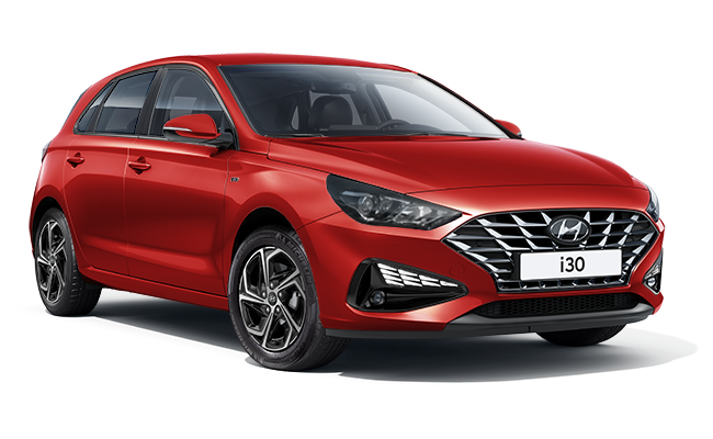 Image of New i30 SE Connect in Engine Red