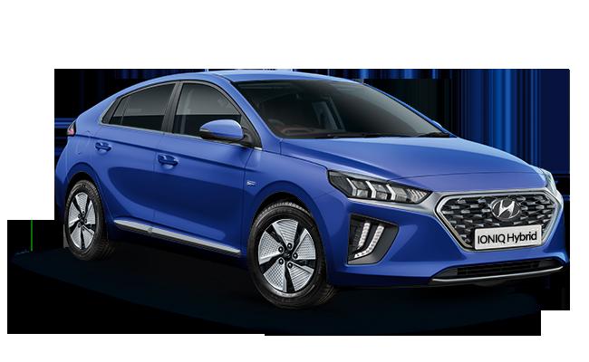 Image of IONIQ Hybrid Premium in Intense Blue