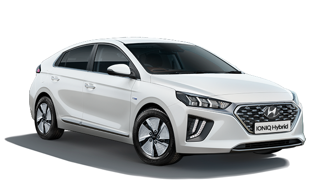 Image of IONIQ Hybrid Premium in Polar White