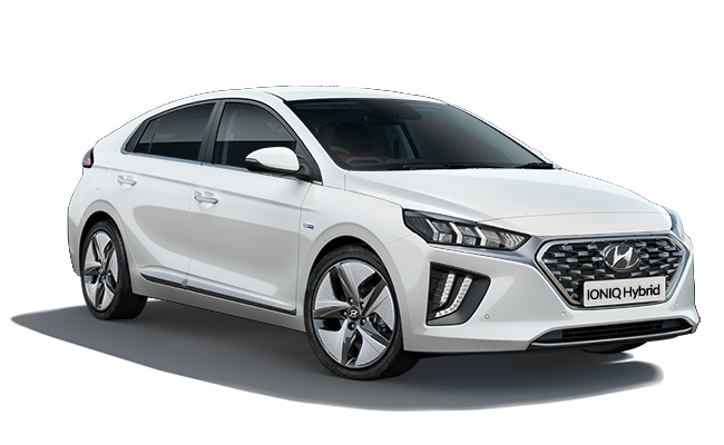 Image of IONIQ Hybrid Premium SE in Polar White