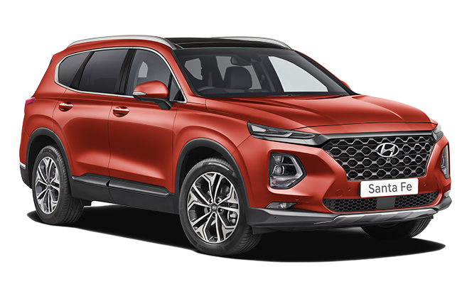 Image of Santa Fe Premium SE in Lava Orange