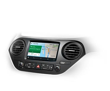 Touch screen navigation system