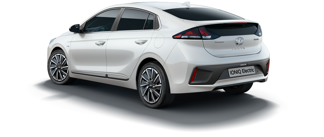 IONIQ Electric Car Rear