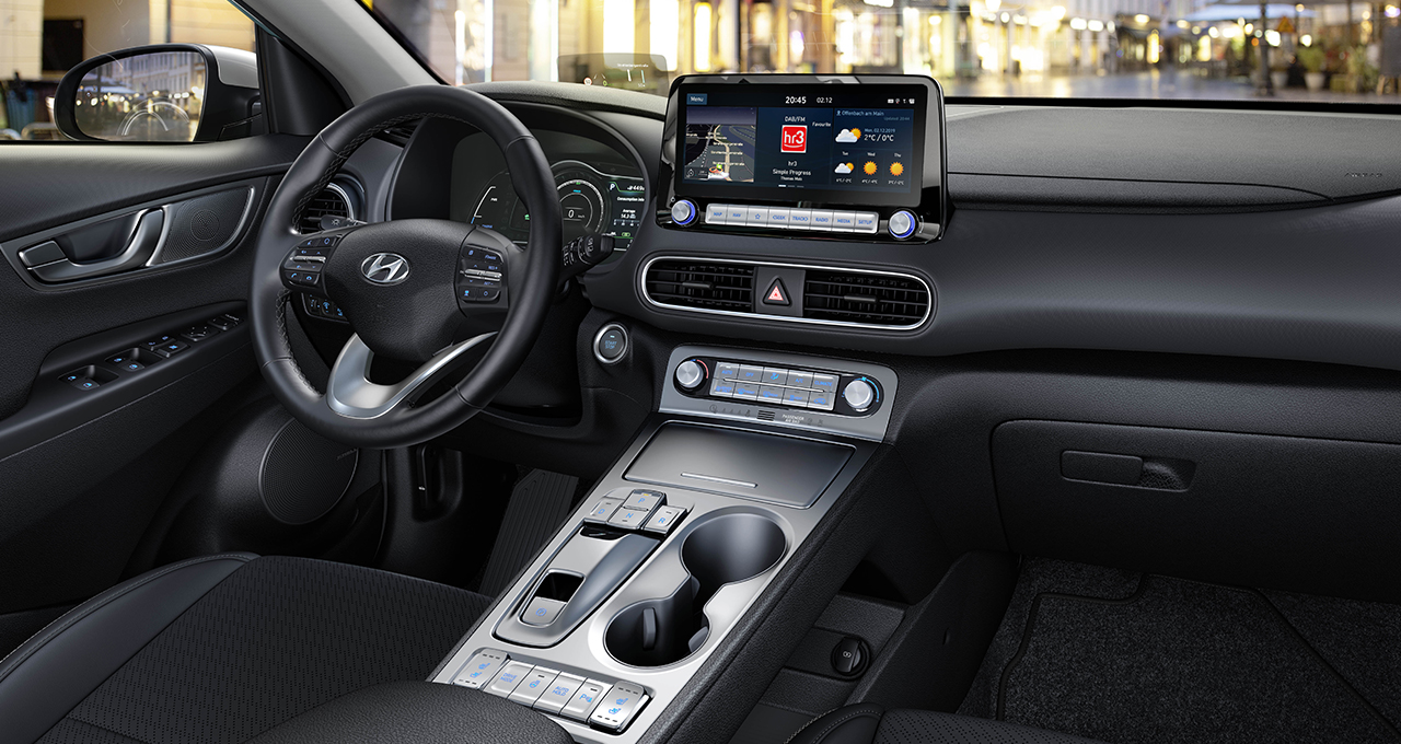 Hyundai Kona Electric interior