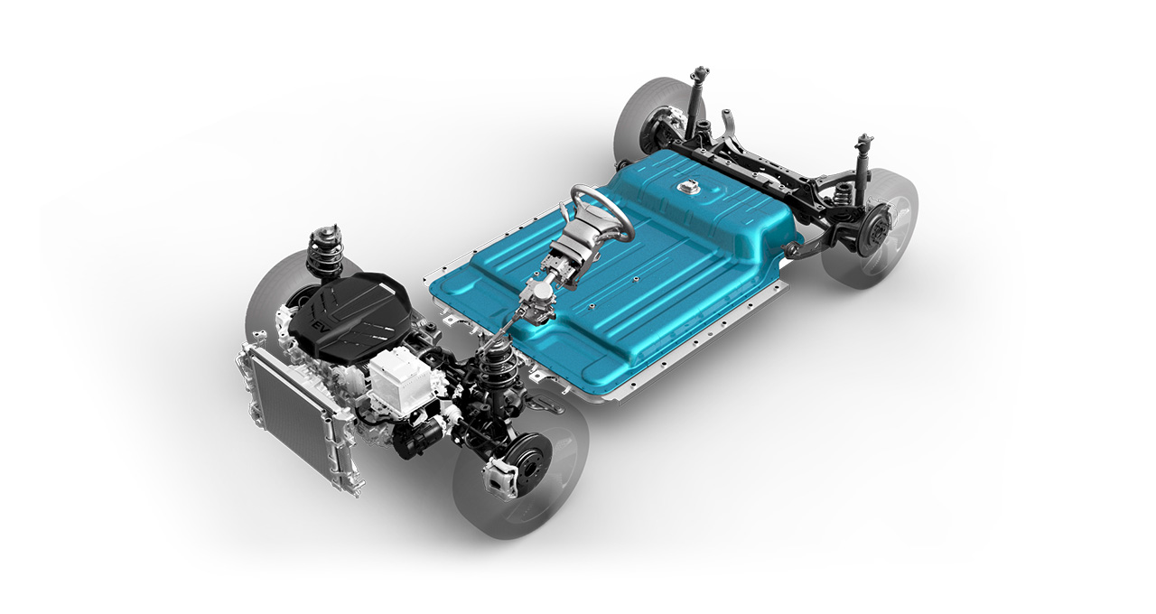 Hyundai Kona Electric components