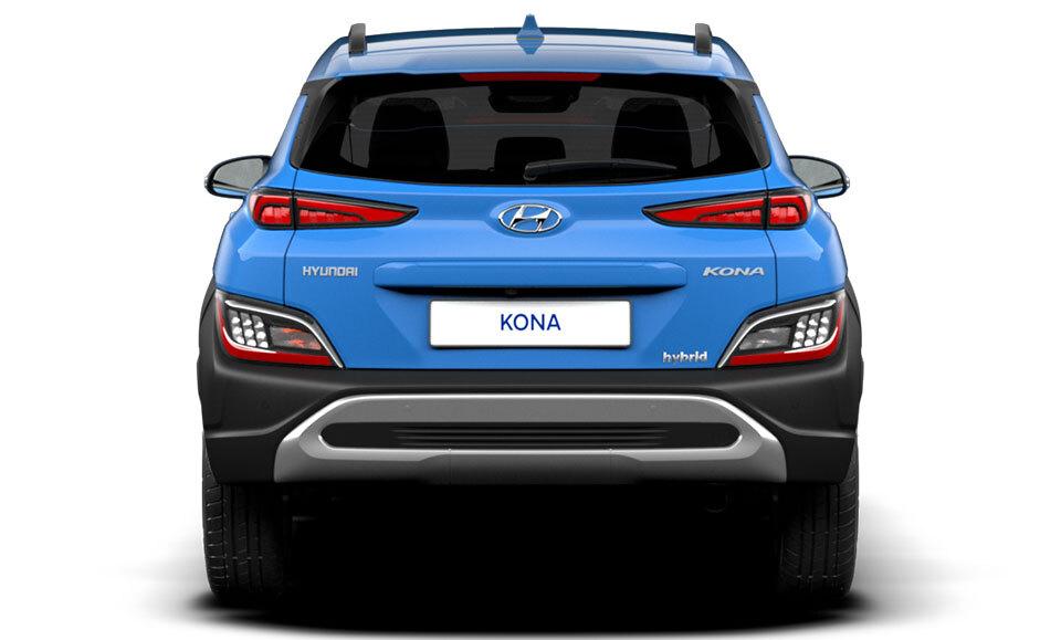Hyundai Kona Hybrid rear of car