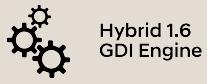 Hybrid 1.6 GDi Engine